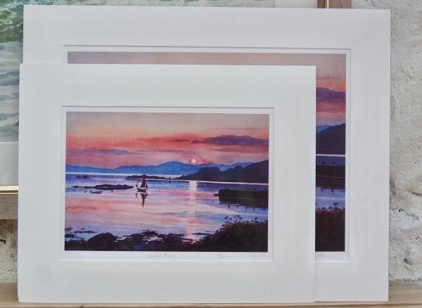 large and medium prints